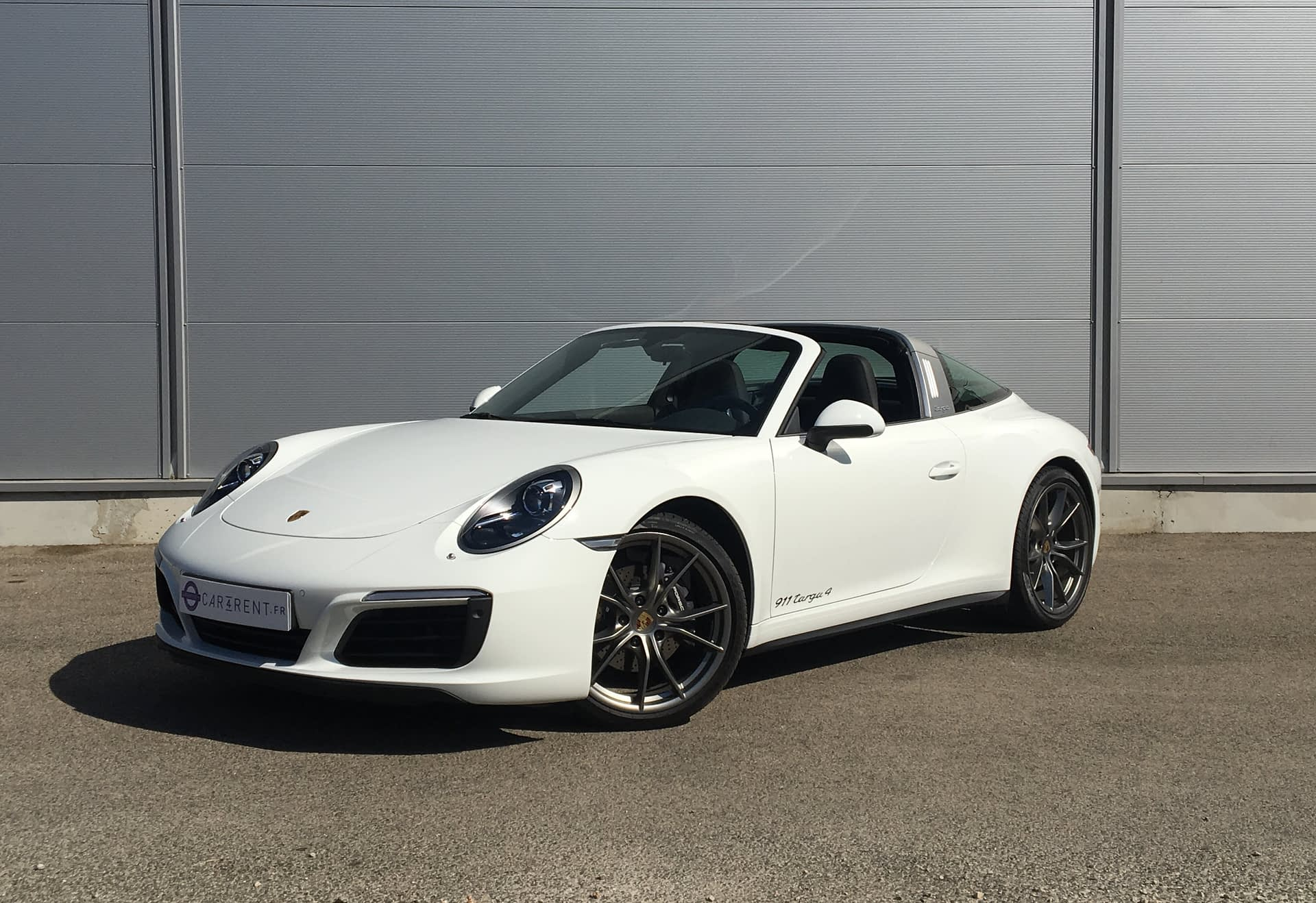 Porsche 991 Targa 4 Car4rent