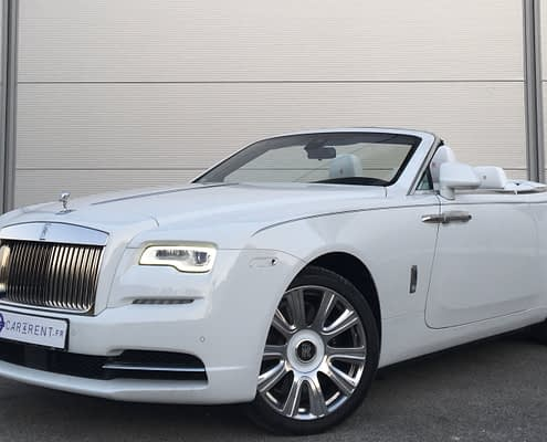 rental rolls royce dawn france thanks to car4rent