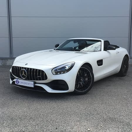 Mercedes AMG GT Roadster for rent Monaco Car4rent