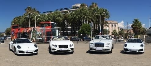 Luxury Car Hiren French Riviera LOWER PRICES