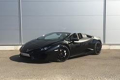 Lamborghini Huracan LP580 Spyder Noire