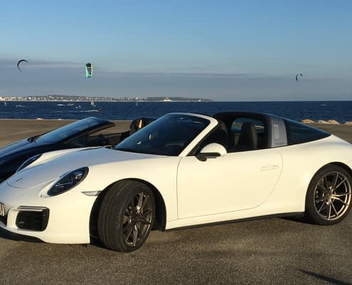 Rent high end car cannes car4rent Porsche