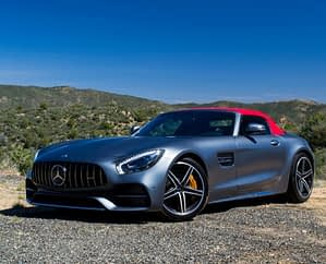 Expeirencias de conduccion Cannes Riviera Azul Car4rent Mercedes AMG GT Roadster