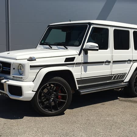 rent luxury car monaco mercedes G class Cazr4rent