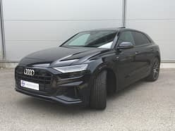 Audi Q8 rental cannes french riviera
