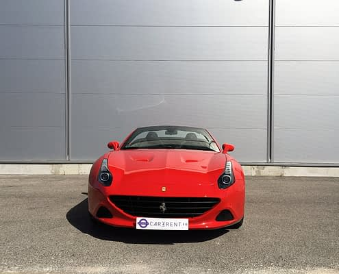 hire ferrari california T Cannes with car4rent