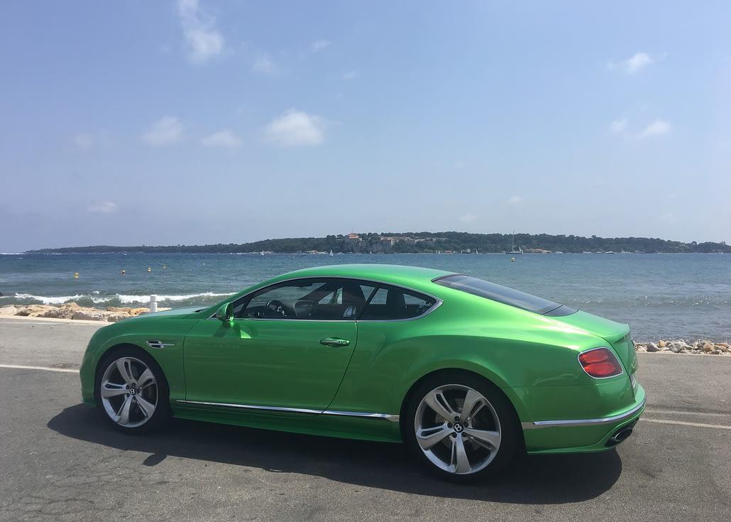 Car4rent Luxury car rental cannes Bentley GT Speed for rent