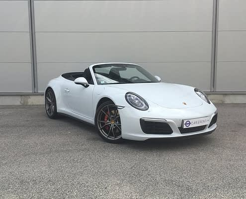 Car4rent Porsche Carrera 4s cabriolet Location Rental Monaco