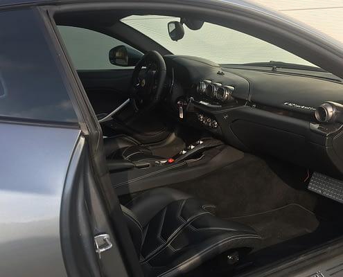 discover ferrari f12 interior car4rent