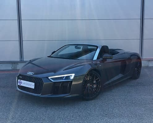 rent audi r8 spyder cannes car4rent
