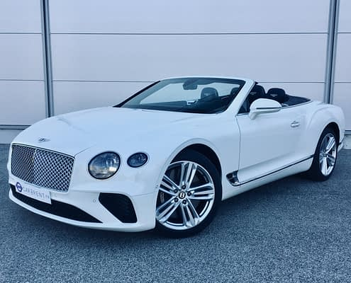 Bentley convertible rental