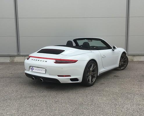 Car4rent Porsche Carrera 4s Cabrio Location rental Saint-Tropez