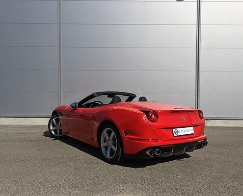 hire ferrari california T saint-tropez with car4rent