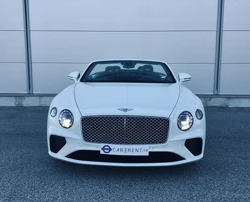 Louer Bentley continental Monaco Car4rent