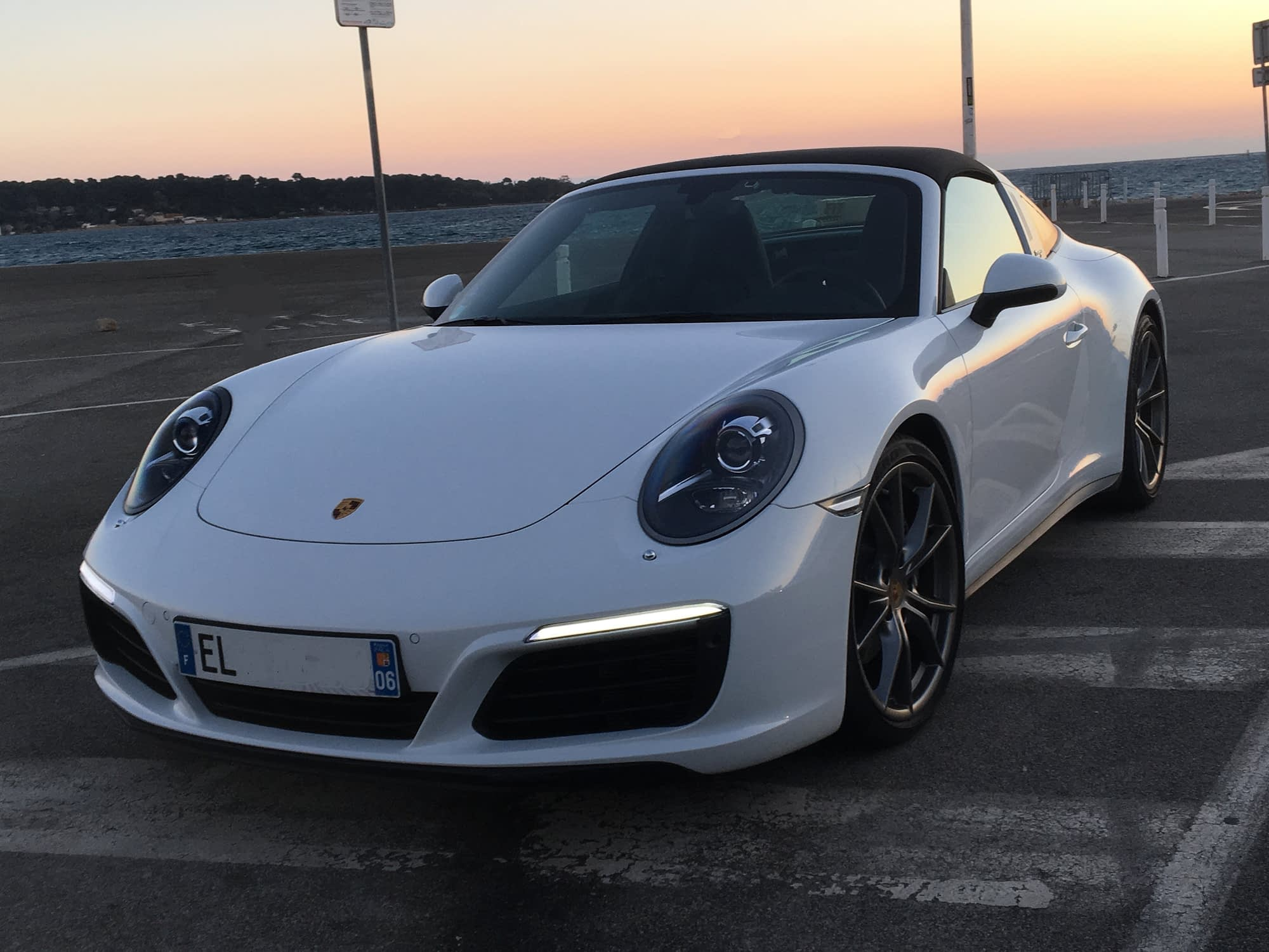 Hire Porsche Targa Cannes Monaco